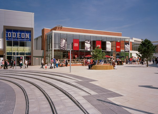 New Square Shopping Centre West Bromwich